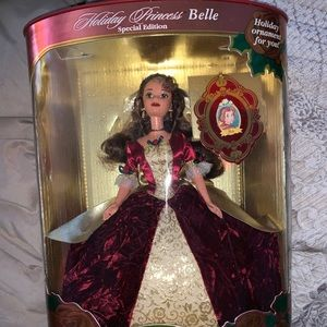 1997 Holiday Princess Belle Barbie